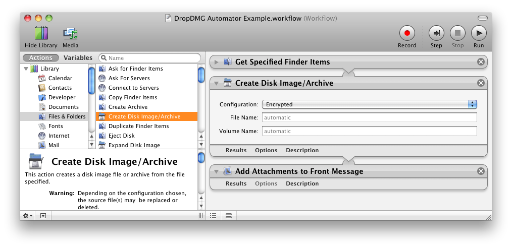 DropDMG: The easy way to create and convert Mac disk images