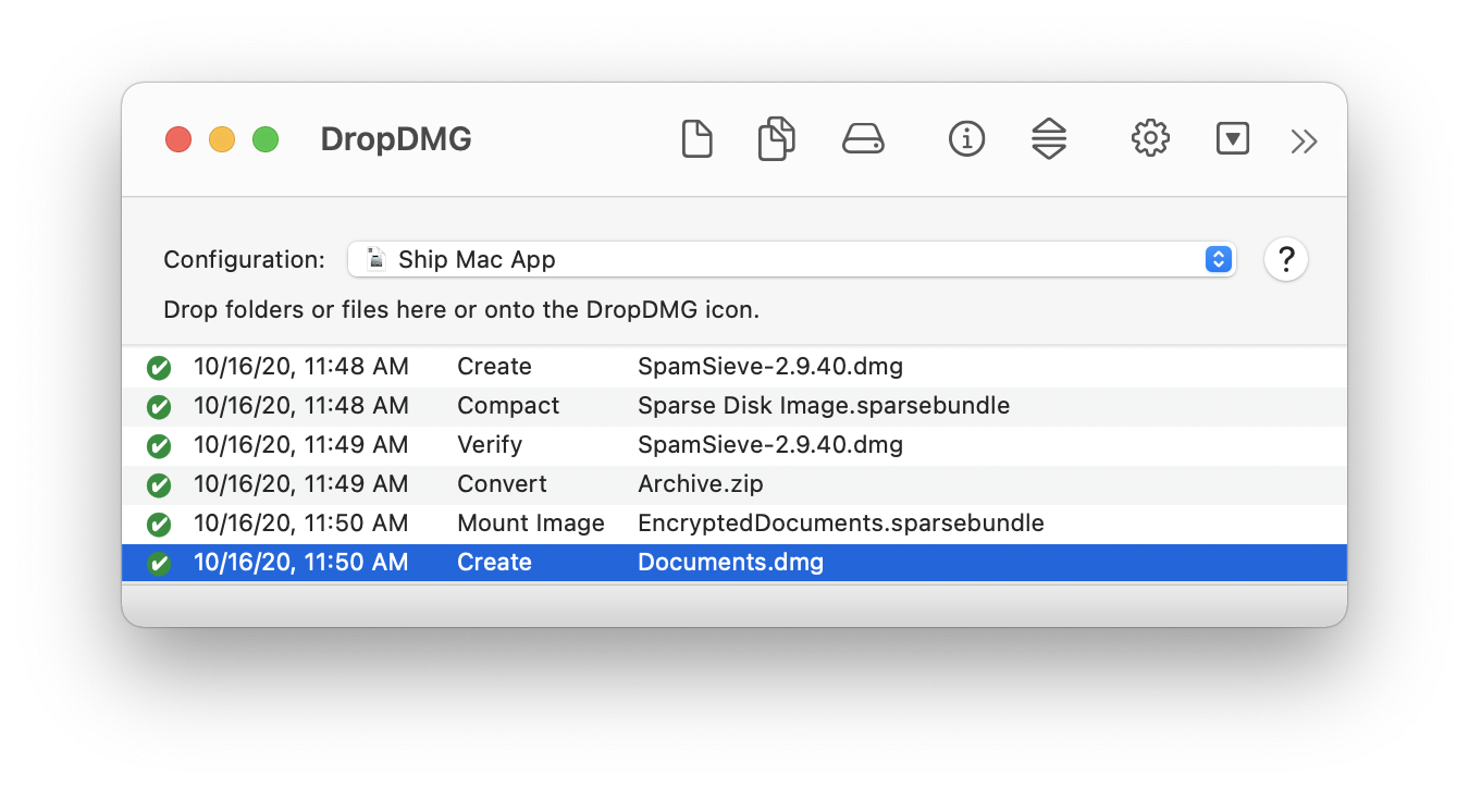 DropDMG: The easy way to create and convert Mac disk images ( dmg files)