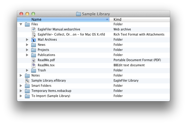 library in finder