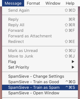SpamSieve Manual