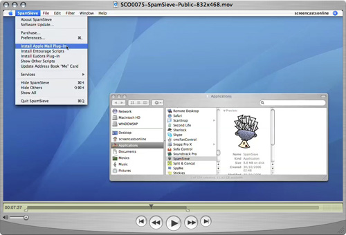 SpamSieve Screencast